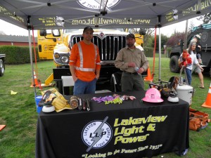 Booth at annual Truck & Tractor Event